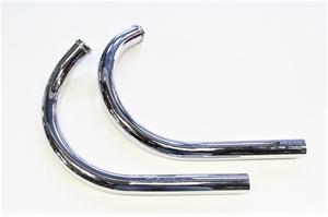Приемная труба глушителя для Ява 250 модель 559 (хром) (Чехия)