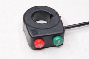 Переключатель (кнопка) сигнала/света для мотоцикла,питбайка,квадроцикла,снегохода,водного транстпорта,электровелосипеда и самоделок