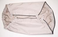 Тент коляски Velorex 700 (ткань,бежевый,черный кант) (Чехия)