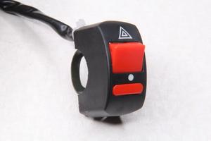 Переключатель (кнопка) аварийки для мотоцикла,питбайка,квадроцикла,снегохода,электровелосипеда и самоделок