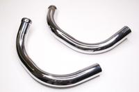 Приемная труба глушителя короткие для Ява 350 модель 638-639 (Польша)