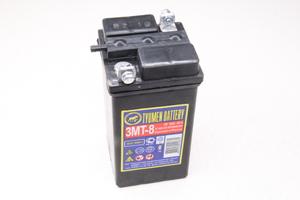 Аккумулятор для мотоцикла Урал, ИЖ и ретро техники 6V 8 А/ч размер 140х70х70мм (без электролита)