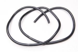 Высоковольтный провод (бронепровод) для мотоцикла, скутера, мопеда и др.(черный,медный, 1 метр)
