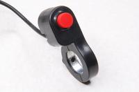 Переключатель (кнопка) без фиксации с хомутом на руль