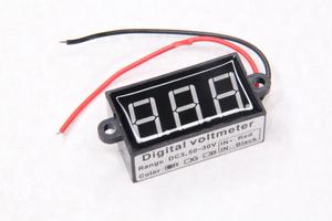 Вольтметр цифровой квадратный 6-12-24V