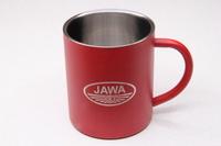 Кружка с логотипом JAWA-ČZ (красная)