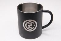 Кружка с логотипом CZ (черная)