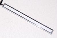 Светодиодная полоска желтая с металлической подложкой 12V / 17см.