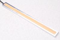 Светодиодная полоска фиолетовая с металлической подложкой 12V / 17см.