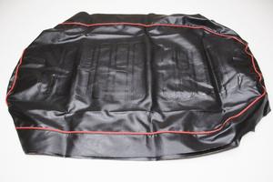 Чехол сиденья для Ява 350 модель 638-639 (красный кант) (Польша)