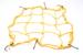 Сетка крепления багажа с металлическими крючками 30х30см.(черная,красная,синяя,желтая)