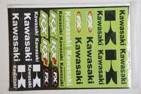 Комплект наклеек  1лист Kawasaki