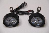 Фары светодиодные с креплением под зеркало мощнсть 3000LM 12в материал пластик
