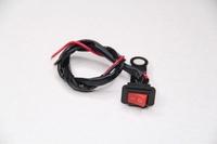 Переключатель (кнопка) Вкл/Выкл для мотоцикла,питбайка,квадроцикла,снегохода,электровелосипеда и самоделок