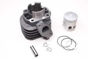 Цилиндро-поршневая группа в сборе (50 куб.см.) для двигателя 1E40QMB 2Т (заводской Китай)
