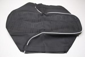Чехол сиденья для Ява 350 модель 634 (белый кант) (Чехия)