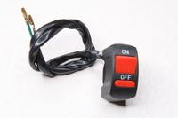 Переключатель (кнопка) ON/OFF для мотоцикла,питбайка,квадроцикла,снегохода,электровелосипеда и самоделок