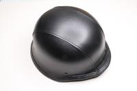Шлем-каска (черная кожа)