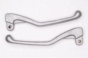 Рычаги сцепления и тормоза серые,алюминий  для Ява 350 модель 634-638(Чехия)