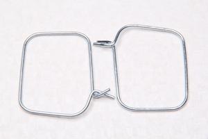 Хомут передний,для гофры цепи.Для Ява 350 модель 634-638-639-640 (Чехия)