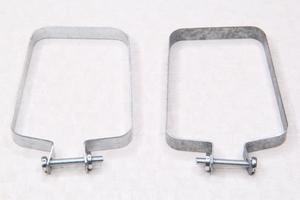 Хомут задний,для гофры цепи для Ява 350 модель 634-638-639-640 (Чехия)