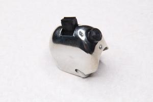 Переключатель руля с кнопкой железо-хром для Ява 250-350 модель 360-559-353 (Турция)