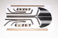 Наклейки набор CEZET-350 Чехия