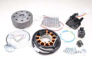 Зажигание электронное бесконтактное Vape 12В (для перехода с 6V на 12V) для мотоциклов Ява 350-250 модели 360-634-559-353 старуха -CZ (Чехия)