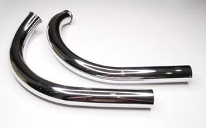 Приемная труба глушителя для Ява 350 модель 634 хром (Чехия)