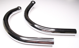 Приемная труба глушителя для Ява 350 модель 638 (Чехия)