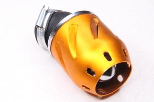 Фильтр воздушный нулевого сопротивления 39-42мм (пуля, желтая)