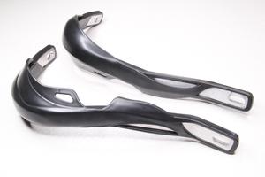 Защита рук для мотоцикла с металлической вставкой Черные.