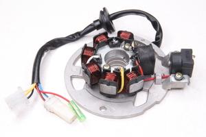 Статор генератора Yamaha JOG 50 (6+1 катушек, 5 проводов) (Китай)