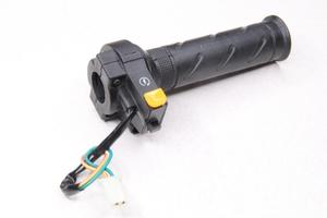 Ручка газа с кнопкой старта для мотоцикла,скутер,мопед,питбайк и др