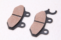 Колодки тормозные дисковые тип№9 (ухо левое,малые) (86х33х8/71х33х8)