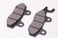 Колодки тормозные дисковые тип№7 (ухо левое) (77x40x8,8 mm / 96,6x40x8,8 mm)