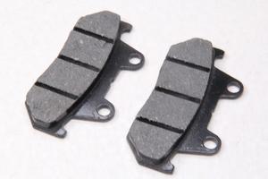 "Колодки тормозные дисковые тип№24 для скутера Honda CB125-150 ""YONGLI"" (90х40х49х9мм)"