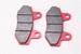 Колодки тормозные дисковые тип№6 скутер 4Т QT-4,питбайк (WH125 YS-3018) NIRVANA, PALADIN, VOLCAN, Z50R (77х40х9мм)