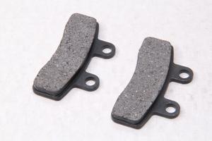 Колодки тормозные дисковые тип№15 TTR110-125 Передние (58х24х34х6мм)
