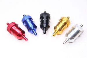 Фильтр топливный тюнинг (разборный,алюминевый,универсальный, для мототехники)