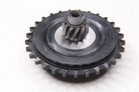 Звезда вариатора задняя с внутренним валом (ведомая,пластмассовая,цепи мотора D1E41QMB) TB-50-60