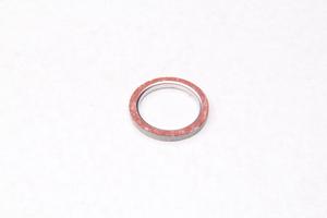 Прокладка глушителя малая (металл,асбест)