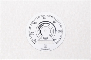 Циферблат спидометра 120км/ч для Ява 350-250 модель Перак 11-18 (Чехия)