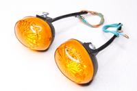 Поворотники Стелс желтое стекло передний Универсальный Тип№27 (Китай)