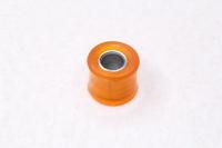 Сайлентблок амортизатора красный (полиуретановый) D=8мм
