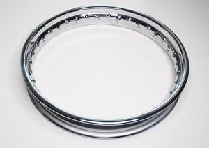 """Обод колеса 16"""" х 1.85 (хром) для Ява 250-350 модель 360-559-353 (Чехия)"""