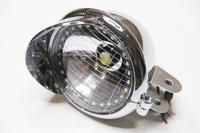Фара передняя светодиодная универсальная хром 12V 10W