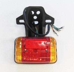 Стоп-сигнал с желтыми поворотниками Альфа-Дельта-Актив-Зодиак-Динго (универсальный,с креплением)