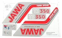 Наклейки набор для Ява 350 модель 638-639 (Чехия)